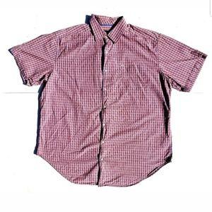 Nautica Men's Shirt Size 2XL Plaid Short Sleeve